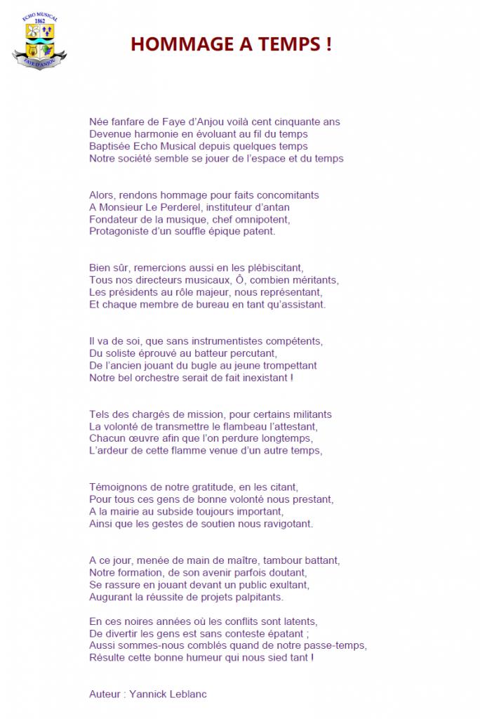Texte lu par Denis Fallempin