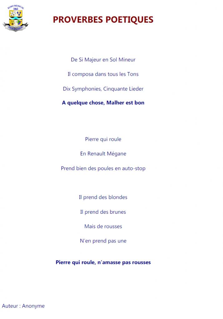 Texte lu par Sébastien Besnard