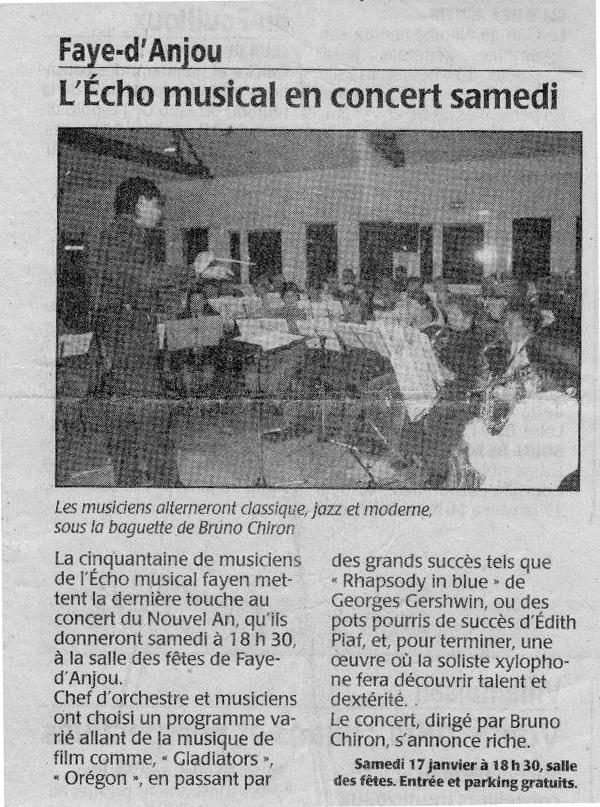 15-01-2009 Concert annonce