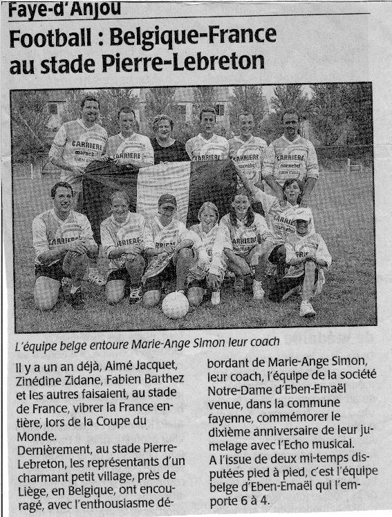 18-07-1999 Jumelage
