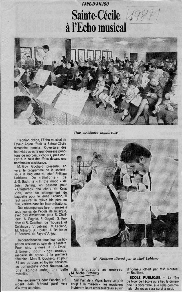 1987 Saint Cecile