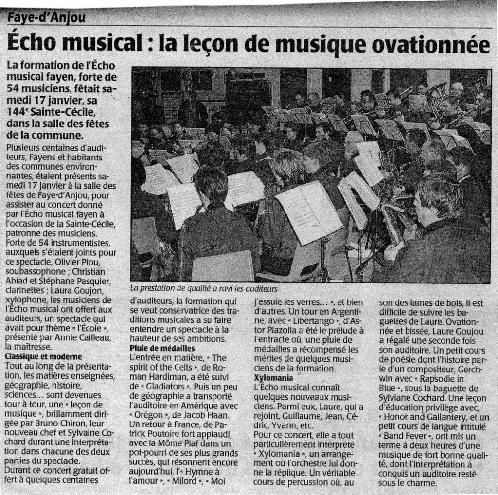 20-01-2006 Concert