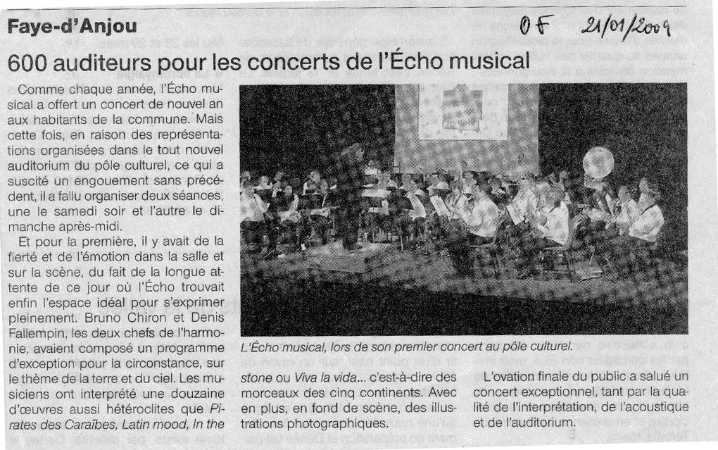 21-01-2009 Concert